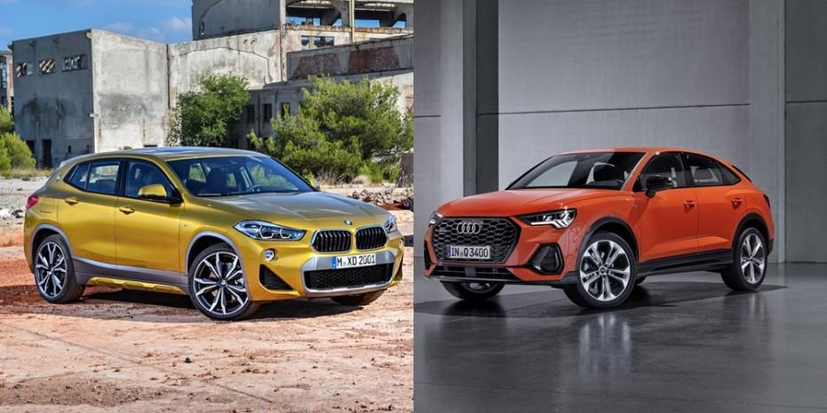Comparación visual Audi Q3 Sportback vs. BMW X2 2019: Y tú, ¿con cuál te quedas?
