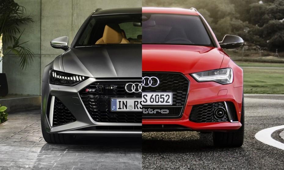 Comparación visual: Juzga tú mismo cuánto ha cambiado el Audi RS6 Avant 2019