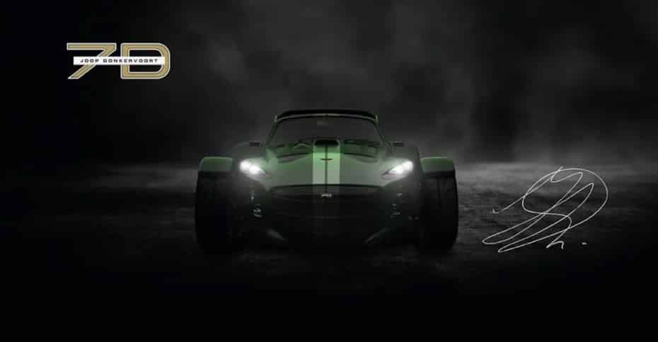 Donkervoort JD70: Motor Audi Sport y menos de 700 kg para celebrar el 70 aniversario