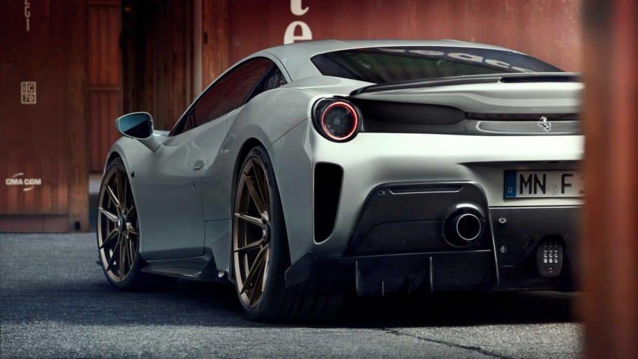 Exclusividad y hasta 802 CV de potencia se dan la mano en el Ferrari 488 Pista de Novitec