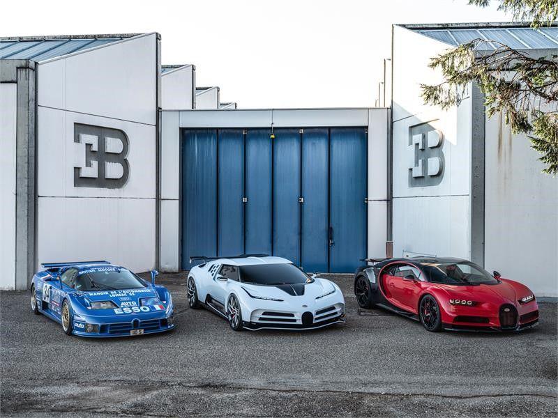 La nueva joya automotriz de 9 millones de dólares | FOTOS — Bugatti Centodieci