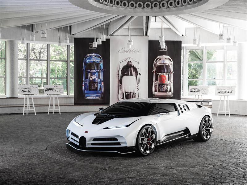 ¡Filtrado! Bugatti Centodieci: Así es el homenaje de la compañía al mítico EB110