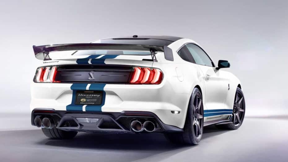 Hennessey lleva al Ford Mustang GT500 2020 hasta las salvajes cifras del Veyron Super Sport