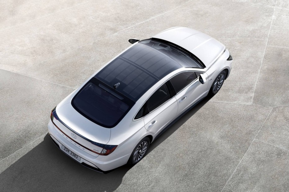Los paneles solares en el techo ya son una realidad en el Hyundai Sonata Hybrid 2020