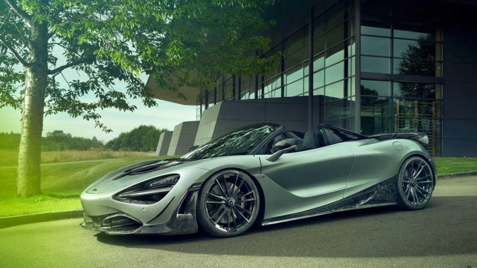 Dieta rica en fibra de carbono y 817 CV para el McLaren 720S Spider de Novitec