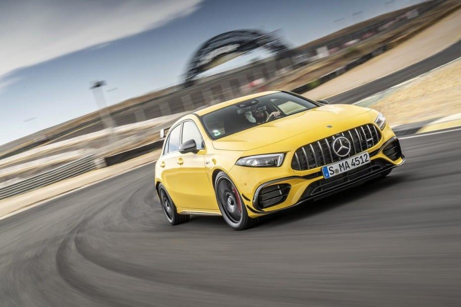 Nuevas imágenes de los poderosos Mercedes-AMG A 45 4MATIC+ y CLA 45 4MATIC+ 2019