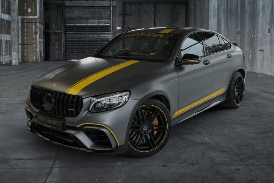 190 CV y 208 Nm adicionales para el salvaje Mercedes-AMG GLC 63 S Coupé de Manhart
