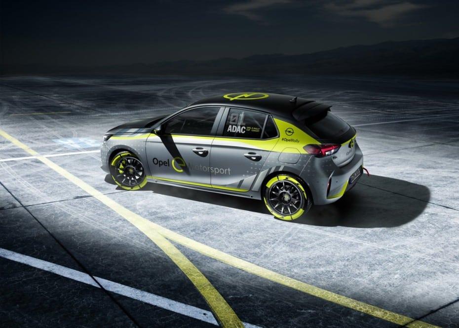 Opel Corsa-e Rally: Un eléctrico para sustituir al Adam R2