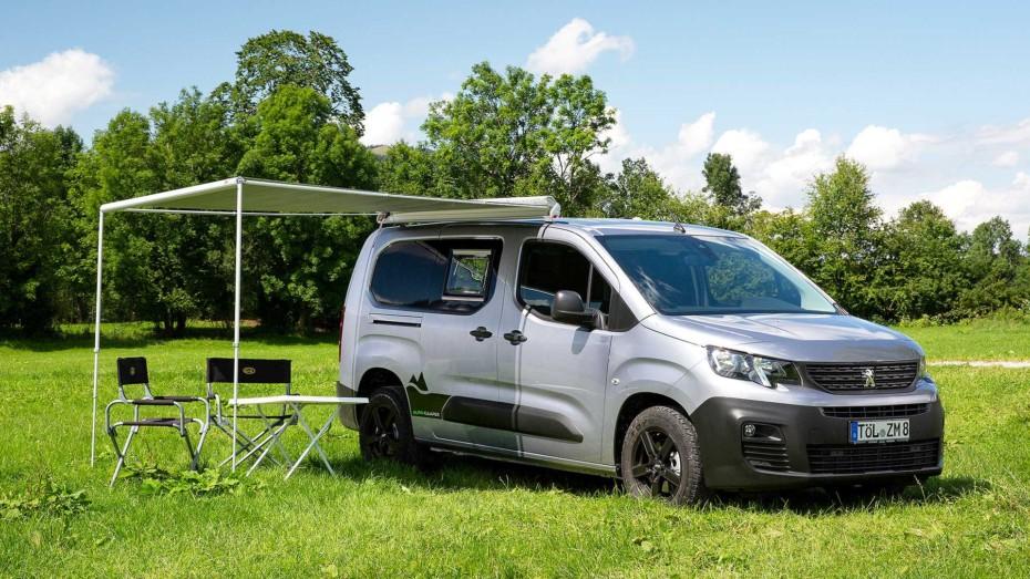 Las últimas camper compactas de Peugeot son el claro ejemplo de cómo se puede optimizar el espacio