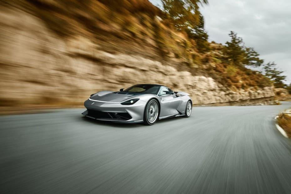 Nuevas imágenes del Pininfarina Battista: El deportivo eléctrico de 1.900 CV del que verás 150 unidades