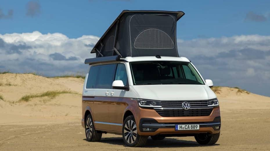 Así es el nuevo Volkswagen California 2020: El camper por excelencia, entre lo mejor del segmento