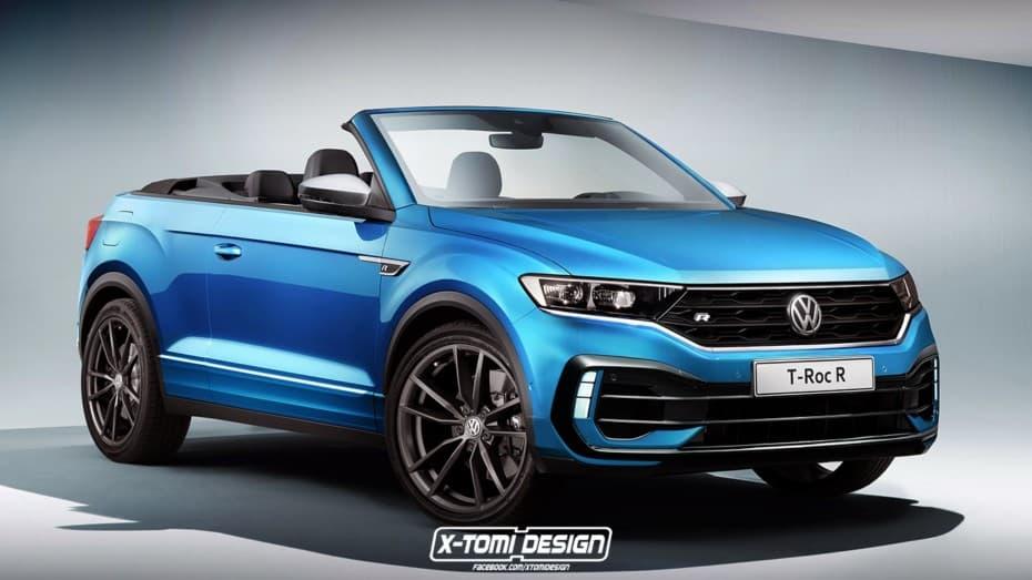 ¿La mejor forma de combinar tres conceptos? Un Volkswagen T-Roc R Cabrio con 300 CV bajo el capó