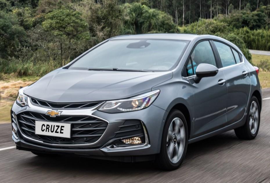 Ligera actualización para el Chevrolet Cruze