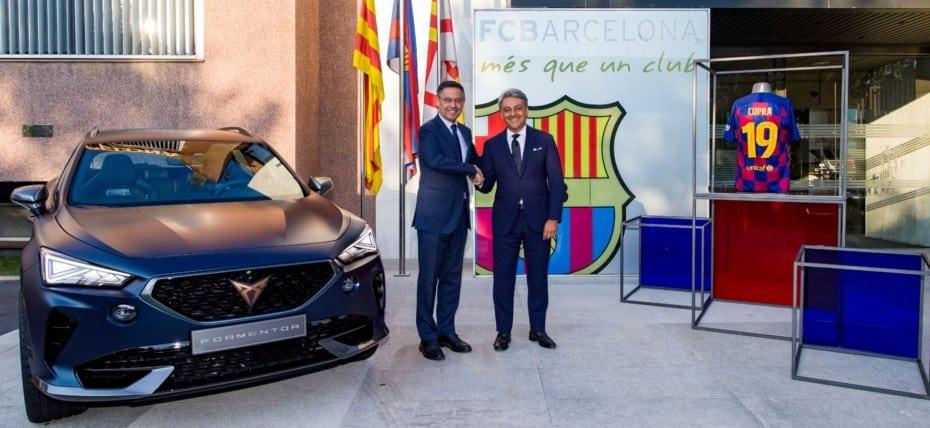 ¡Ya es oficial!: CUPRA y FC Barcelona firman un jugoso acuerdo global