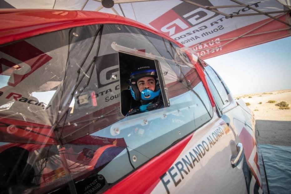 Toyota y Fernando Alonso con la vista puesta en el Dakar 2020 de Arabia Saudí