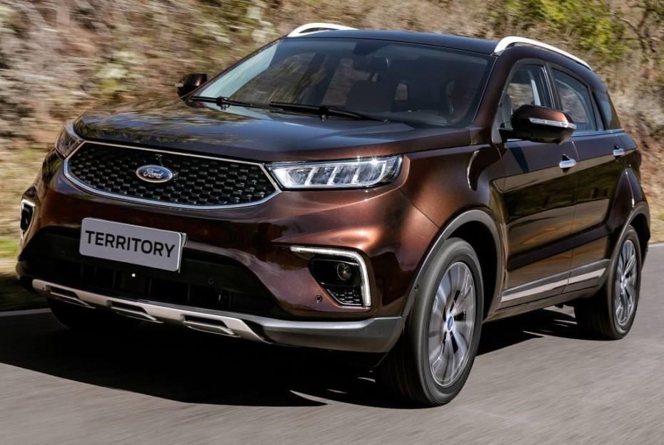 Así es el nuevo Ford Territory para América Latina