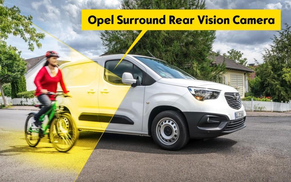 El Opel Combo Cargo añade más equipo de seguridad