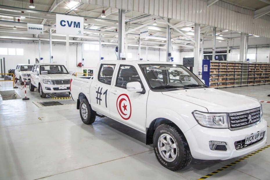 El pick up de Peugeot ensamblado en Túnez, a la conquista de nuevos mercados