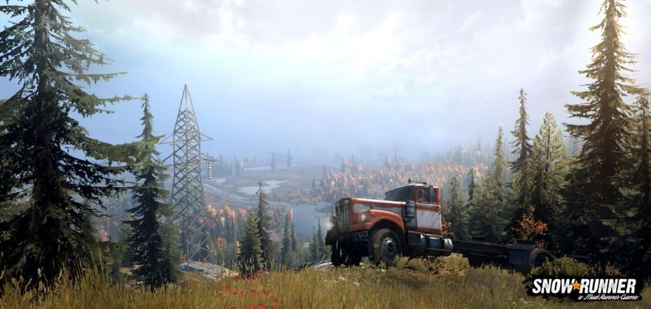 Así es SnowRunner, el último simulador de vehículos todoterreno