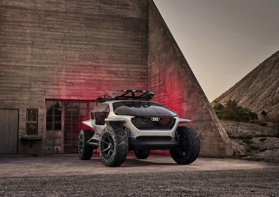 Audi AI:TRAIL quattro: El concept futurista 100% eléctrico y todoterreno de los cuatro aros