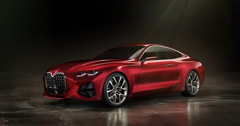 BMW Concept 4: Probablemente el concept más espectacular de Frankfurt 2019