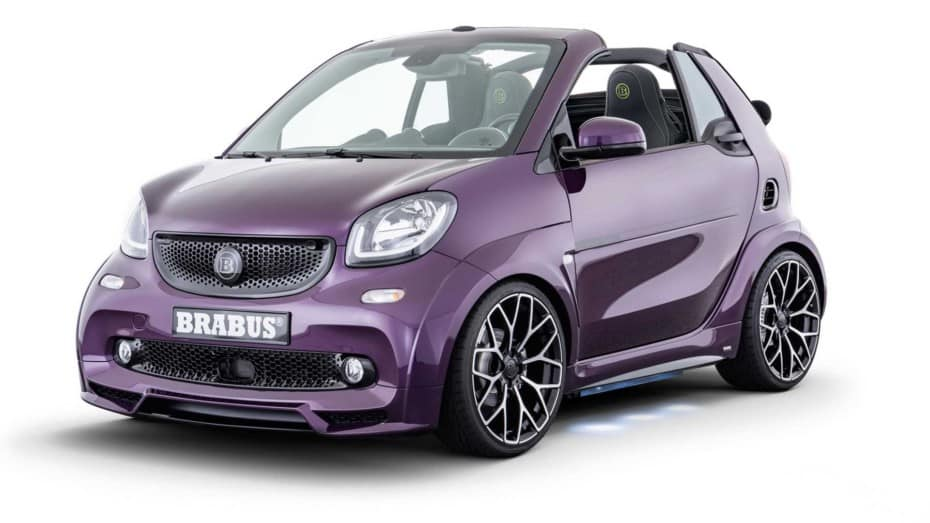 BRABUS Ultimate E: El smart fortwo que supera la barrera de los 60.000 euros