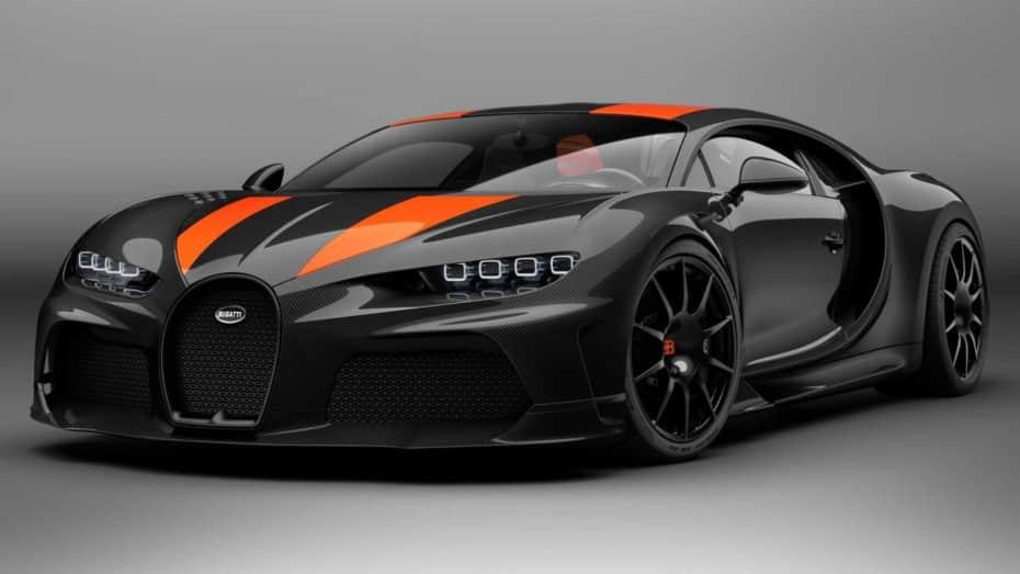 Bugatti Chiron Super Sport 300+: El coche más rápido del mundo parte de los 3,5 millones de euros