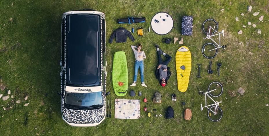 Citroën SpaceTourer The Citroënist Concept: La camper conectada en la que cabe tu bici