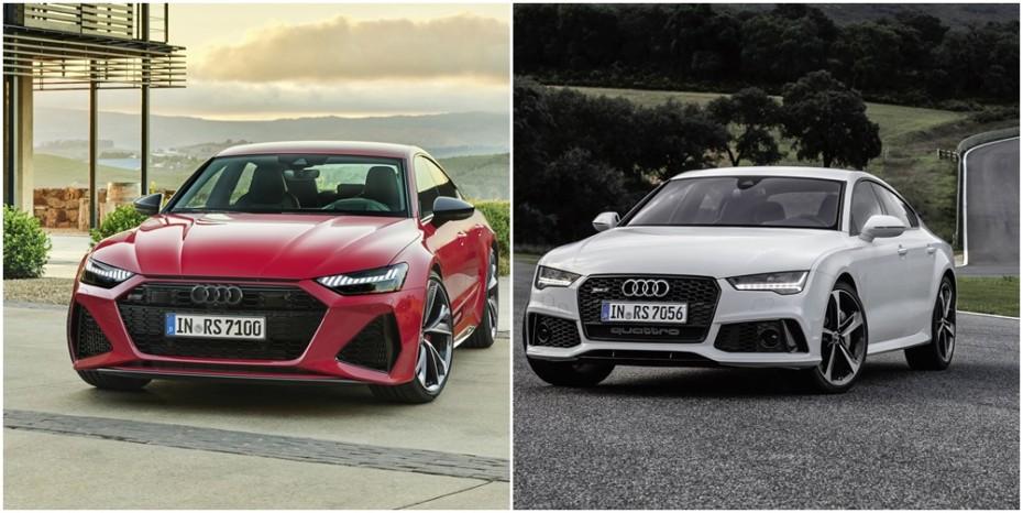 Comparación visual Audi RS 7 Sportback 2020: Juzga tú mismo cuánto ha cambiado la bestia