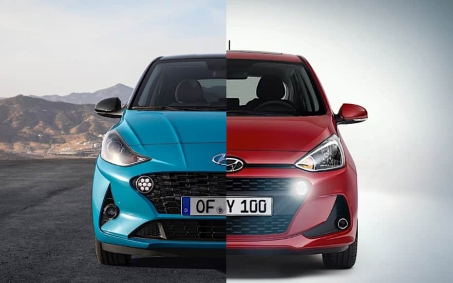 Comparación visual Hyundai i10 2020: Juzga tú mismo cuánto ha cambiado el urbano