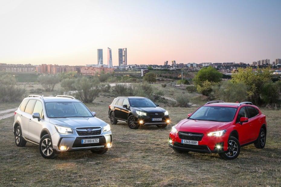 Así se configura la gama GLP de Subaru 2019: Los Impreza, XV, Levorg, Outback y Forester con pegatina 'ECO'
