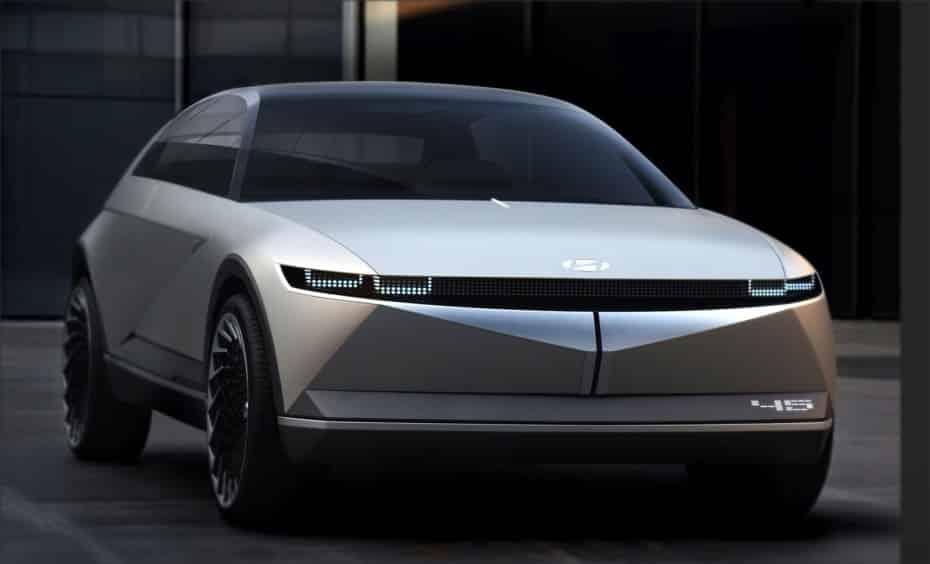 Hyundai 45 EV Concept: Un adelanto del futuro lenguaje de diseño retro de la marca