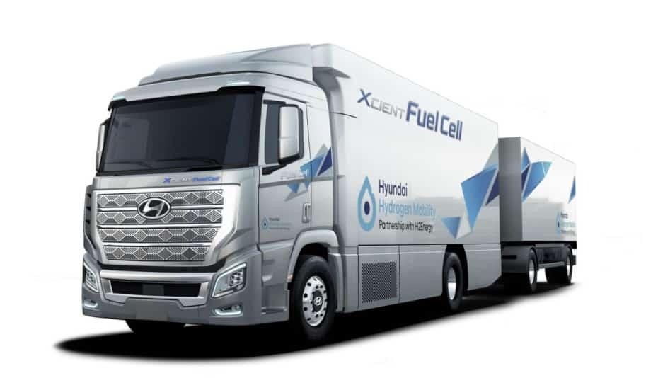 Así es el Hyundai H2 XCIENT Fuel Cell, el camión coreano de pila de combustible de hidrógeno