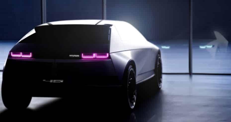 Nuevas imágenes del Hyundai Concept『45』antes de su debut: El futuro pinta bien