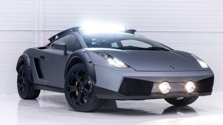 Este Lamborghini Gallarado ideal para irte de safari puede ser tuyo