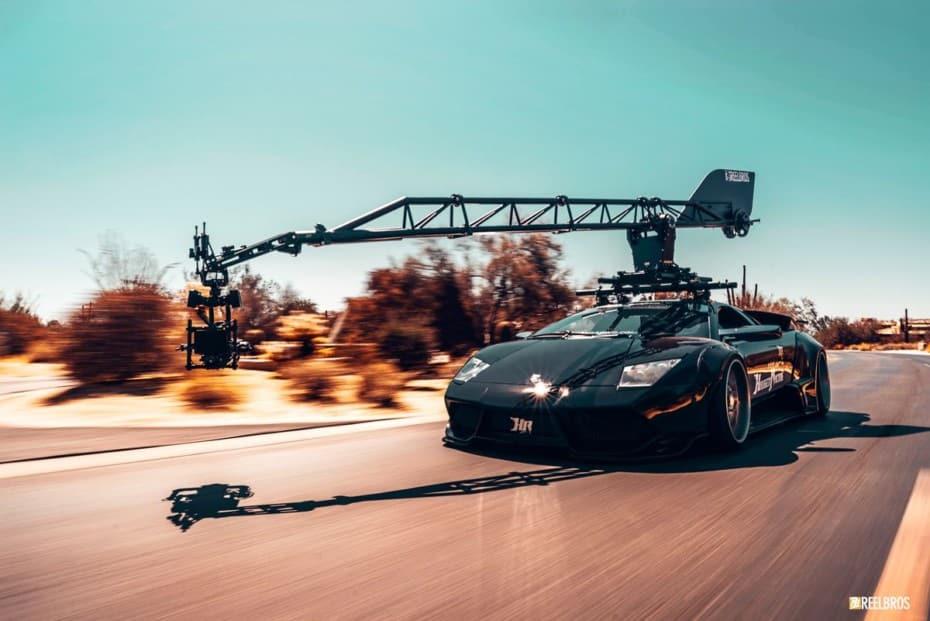 Este Lamborghini Murciélago de Liberty Walk convertido en coche cámara no te va a defraudar
