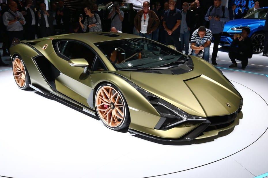 Así de espectacular es el Lamborghini Siàn al natural: Un híbrido limitado a 63 unidades