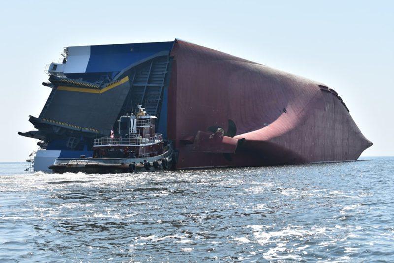 Accidente en otro buque de carga con 4.200 vehículos en su interior: Ya van tres en solo unos meses