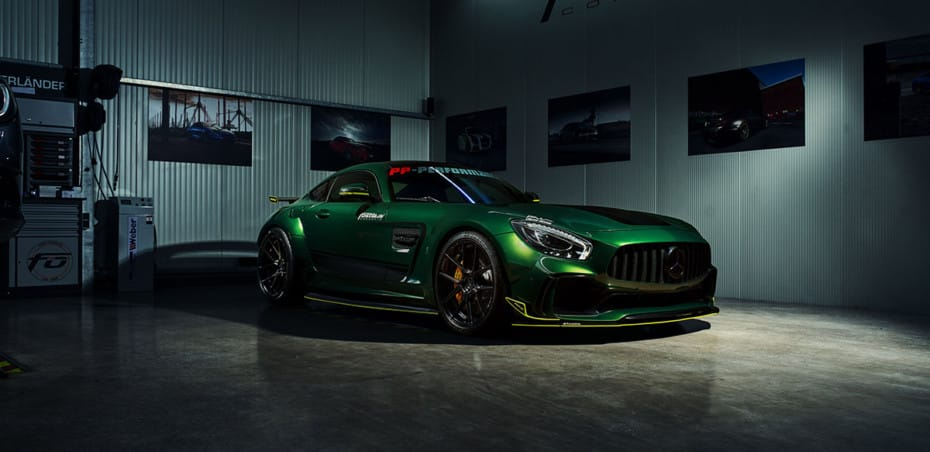 Olvida las sutilezas, el Mercedes-AMG GT R de Fostla es una bestia amenzante