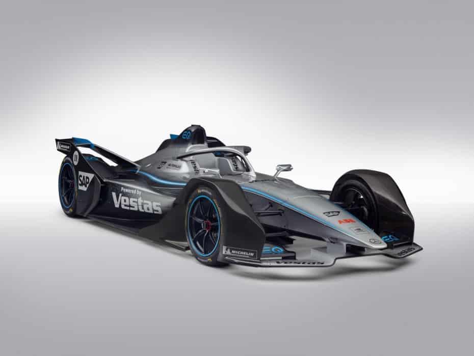 Mercedes-Benz EQ Silver Arrow 01: Casi 400 kg de baterías en el monoplaza