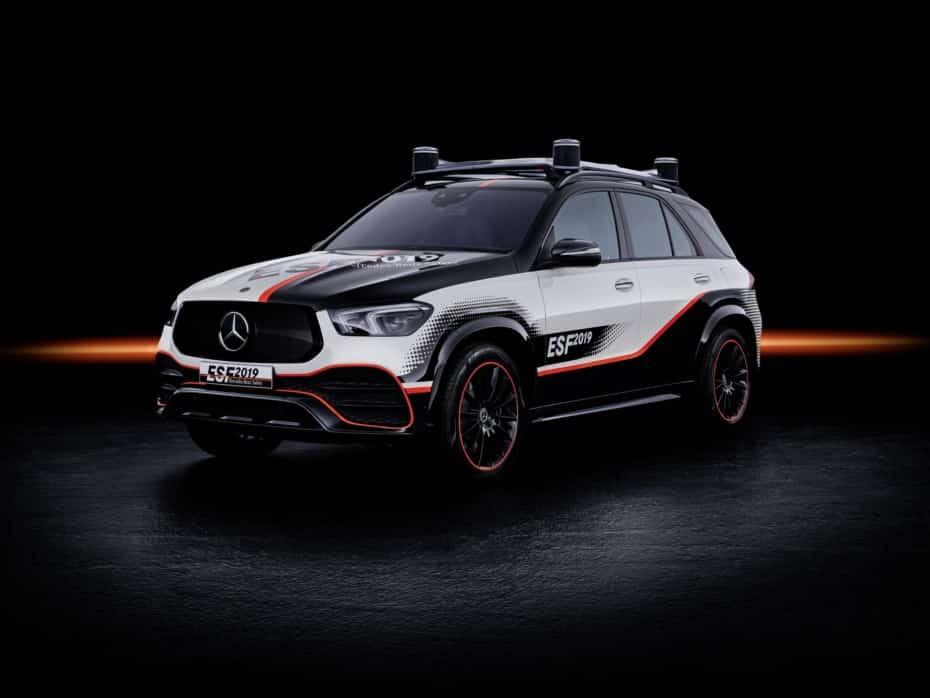 Mercedes-Benz Experimental Safety Vehicle 2019: La tecnología que verás en los futuros modelos alemanes