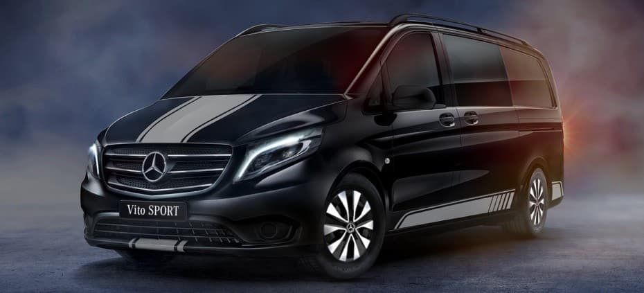 Mercedes-Benz Vito Sport: A falta de versión AMG…