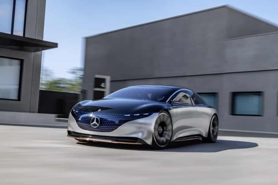 Vision EQS: así ve Mercedes-Benz su futuro eléctrico