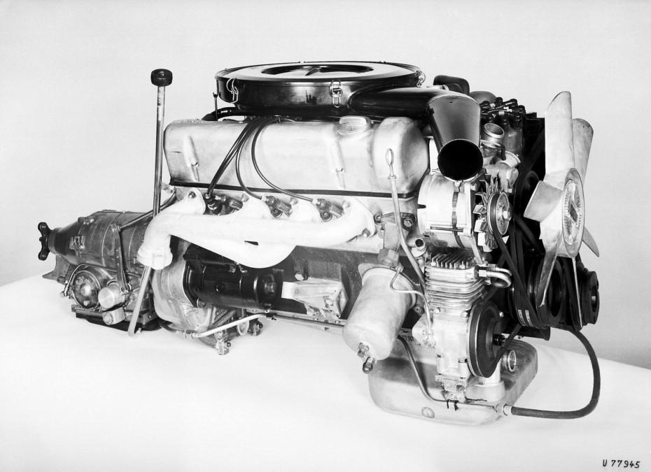 Y ya hace 50 años que el mítico motor V8 de 3.5 litros de Mercedes-Benz fue presentado