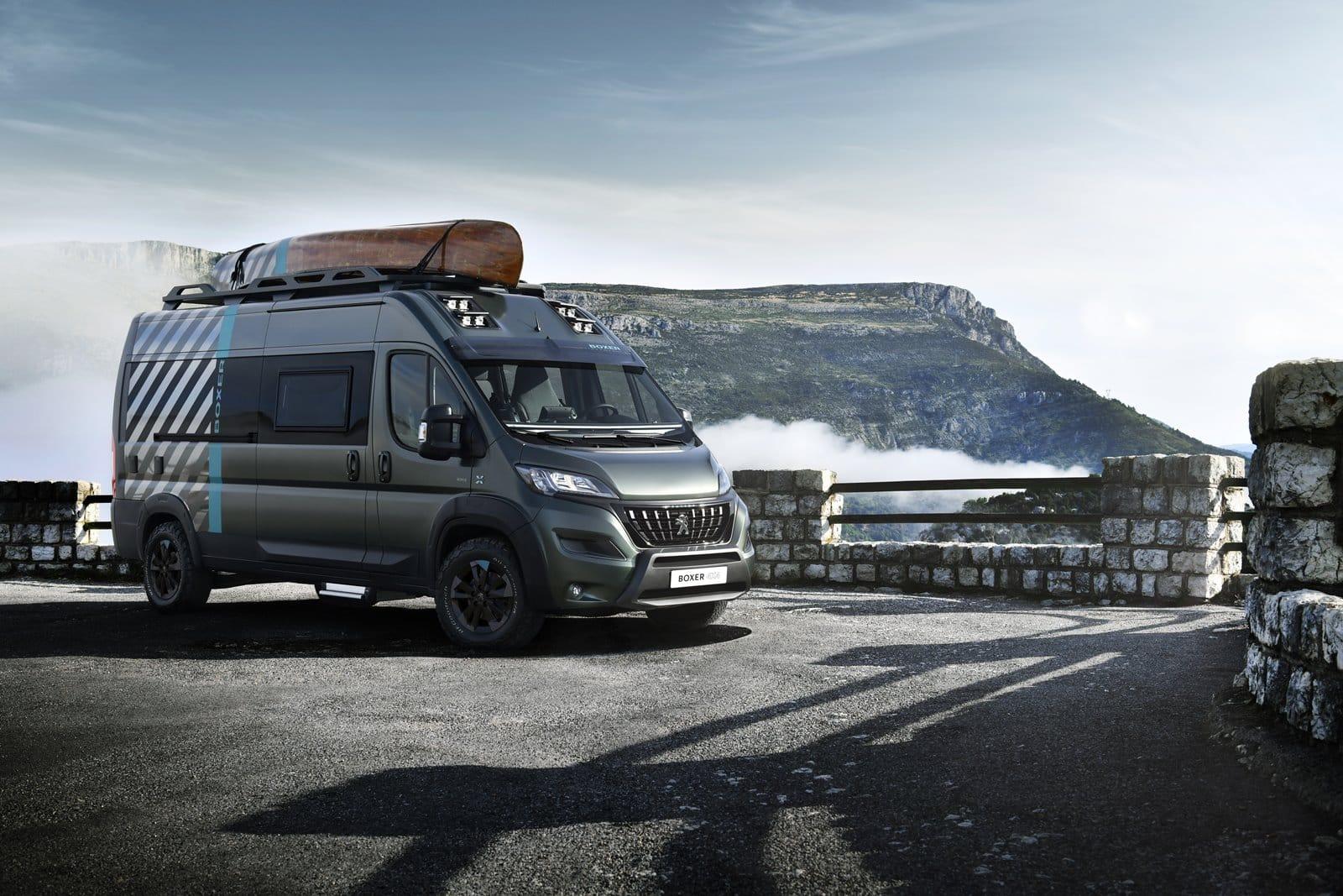 Peugeot Boxer 4×4 Concept: Declaración de intenciones hacia la camperización