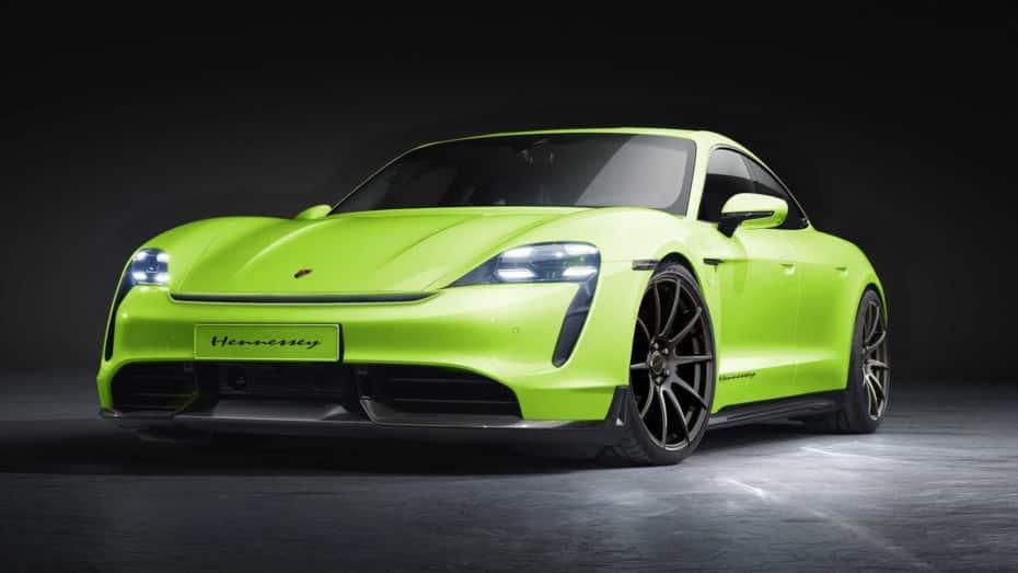 El Porsche Taycan se convertirá en la última fiera de Hennessey ¿Qué tienen preparado?