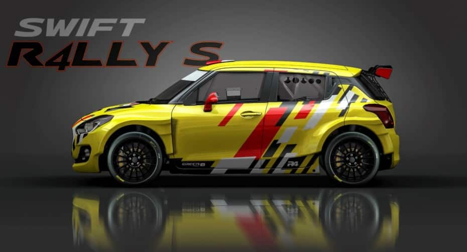 Suzuki Swift R4LLY S: Un aspecto espectacular para el Swift de competición