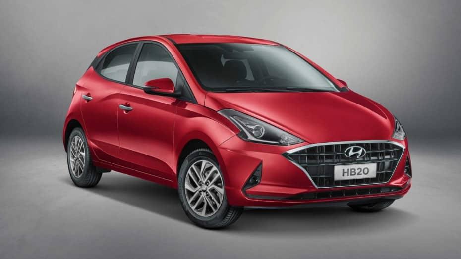 Primeras imágenes del nuevo Hyundai HB20
