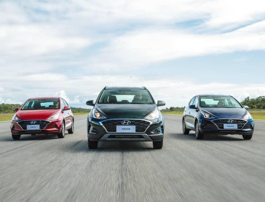 Así es la gama al completo del nuevo Hyundai HB20