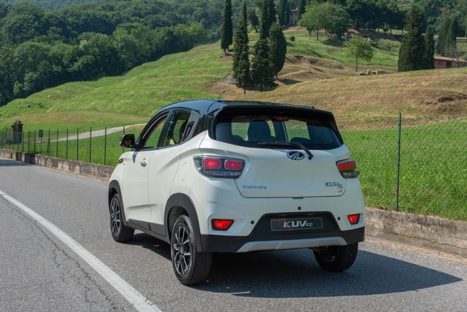 El Mahindra KUV100 ya es el crossover más barato del mercado español